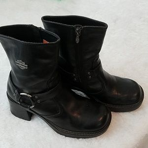 HARLEY DAVIDSON PAVEMENT HARNESS BOOTS SIZE 6.5